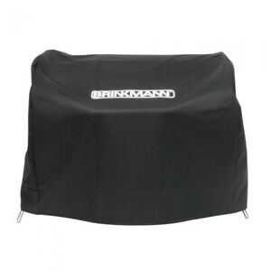 Brinkmann 812-1100-S Table Top Gas BBQ Grill Cover Tool Machine BLACK NEW in Box