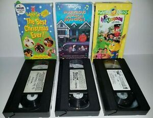 Wee Sing The Best Christmas Ever Vhs.Wee Sing Vhs For Sale