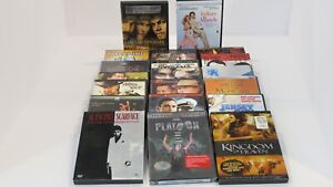 LOT OF 20 DVD'S SOME BRAND NEW SCARFACE, JLO, CRUISE, MATTHEW McCONAUGHEY MORE