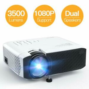 Projector APEMAN Mini Portable 3500L Video Projector LED with Dual Speakers