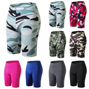 Women Shorts Yoga Sportwear Gym Fitness Running Exercise Legging Casual Pants