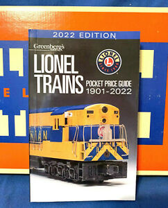 2021 LIONEL POCKET PRICE GUIDE. GREENBERG#x27;S NEWEST EDITION ..... MINT Y09 $19.99