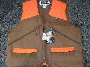 Gamehide NWT Mens XL Briar Proof Upland Vest Front Loading Covered Shell loops