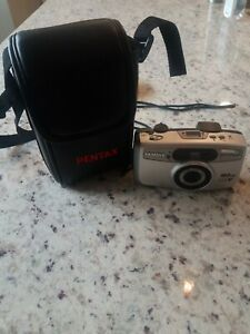 Pentax IQZoom 115 35mm Point & Shoot Film Camera.  Tested