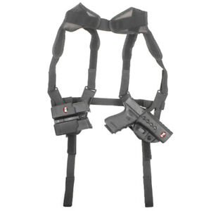 Fobus Shoulder Rig For All Fobus Rotating Holsters & Pouches, Ambi Ktfshr