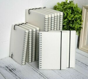 Spiral Notebook Blank Grid Pages Lined Journal Diary Sketchbook School Supplies
