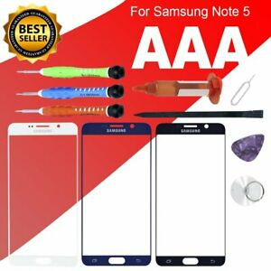 For Samsung Galaxy Note 5 Front Screen Glass Lens Replacement Tools Kits Glue