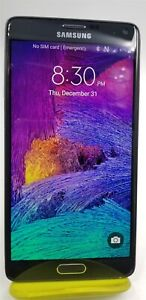 Samsung Galaxy Note 4 32GB Black SM-N910A (AT&T) - Android Smartphone - FR6512