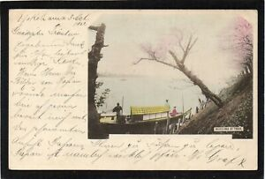 JAPAN -Mukojima at TOKIO / TOKYO. Early postcard 1902. On board S.S.America Maru