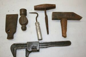 Lot of 6 Vintage and Antique Tools -