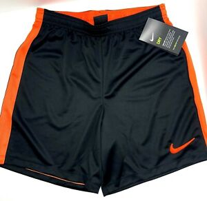 Nike Dry Fit Boys Basketball Shorts Sz L Black Orange AT3048 010 New with tags