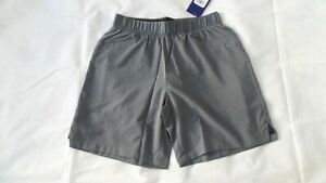 ASICS 2-IN-1 7 INCH MENS RUNNING SHORTS SIZE S SMALL - GRAY