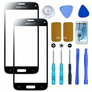 Replacement Front Screen Lens Glass Cover For Samsung Galaxy S5 Repair Tools Kit
