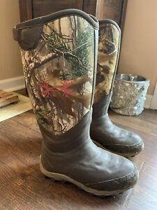Womens Under Armour 800g Camo Hunting Boots size 7