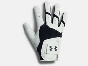 Under Armour Men's UA ISO-Chill Right Hand Golf Glove 1325608-001 BlackWhite