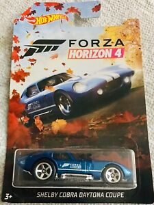 2019 Hot Wheels Forza Horizon 4 Shelby Cobra Daytona Coupe