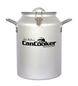 4 Gallon Can Cooker - using steam cooking for a healthy meal on any heat source