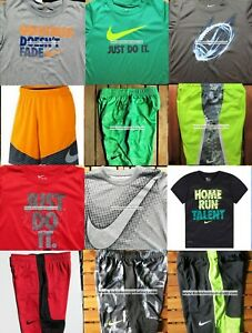 NIKE BOYS SIZE 6 BASKETBALL SHORTS  ~ T-SHIRTS ~ DRI-FIT  12pc NEW ~ SUMMER $288