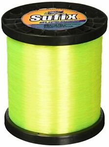 Sufix Superior Spool Size Fishing Line (Yellow 100-Pound)
