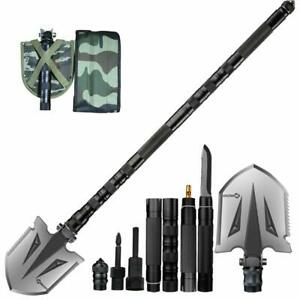 Military Folding Shovel Multitool Compact Backpacking Tactical Camper's Tool