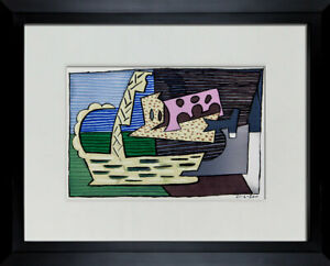Pablo PICASSO Limited Edition Lithograph - The Basket 1920  Signed