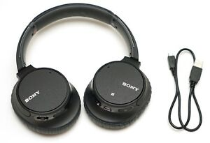 Sony WH-CH700N Wireless Bluetooth Noise Canceling Over-the-Ear Headphones Black