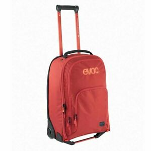EVOC Terminal Roller bag 40L Travel bag with wheels Chili Red