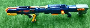 NERF N- STRIKE LONGSHOT BIPOD SNIPER RIFLE CS-6 WITH CLIP, DARTS AND 1 SHOT EXT