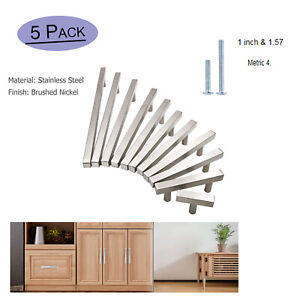Cabinet Door Pulls Knobs Brushed Nickel Drawer Handles Kitchen Cabinet Hardware