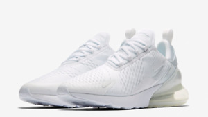 NIKE AIR MAX 270 $150 Men's Running shoes Authentic NEW AH8050 101 WHITE Sz 9-12