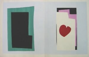 "Matisse, Henri.  ""Coeur: Heart""  1947. From the Edition of 100 Outside of Jazz!"