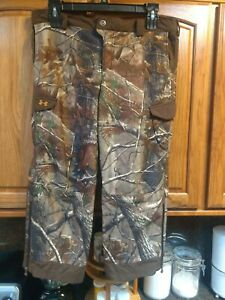 Under Armour Coldgear Ayton Realtree AP Camouflage Hunting Pants Youth Boy's XL