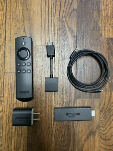 Amazon Fire TV Stick 2nd Generation with Alexa Voice and Remote - Complete