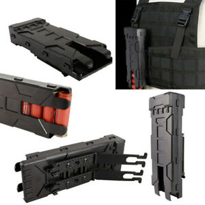 12 Gauge Shotgun Shell Magazine 10 Round Molle Carrier Holder Tactical Pouch New