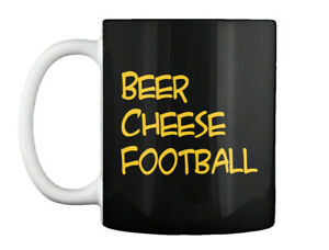 #beer Beer Cheese Football Gift Coffee Mug