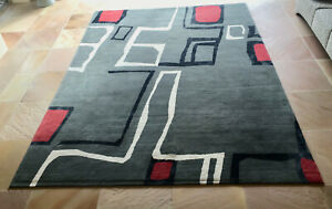 Robin Gray Design Wool and Silk Area Rug