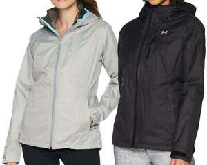 UNDER ARMOUR PRIME JACKET 3 in 1 w Insulated Liner Womens S M L XL Black Steel $99.95