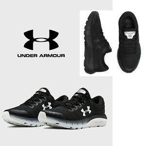 Under Armour CHARGED BANDIT 5 Womens Running Shoes Black Cushioned Sneaker NEW