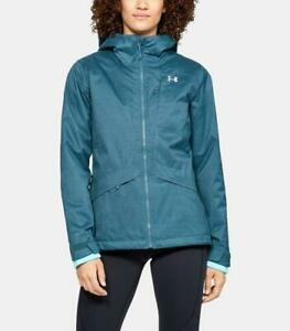 NEW UNDER ARMOUR SIENNA JACKET Women's 3 in 1 Coldgear Infrared Static Blue $89.95