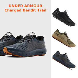 Under Armour CHARGED BANDIT Mens Running Shoes Cushioned Sneaker NEW