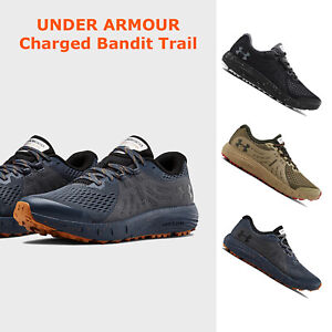 Under Armour CHARGED BANDIT TRAIL Mens Running Shoes Cushioned Sneaker NEW $71.95