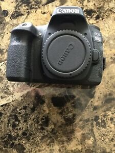 Canon EOS 80D 24.2MP Digital SLR Camera Kit with EF-S 18-55mm f3.5-5.6 IS...