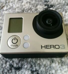 GoPro HERO3 Action Camera - Silver Works great