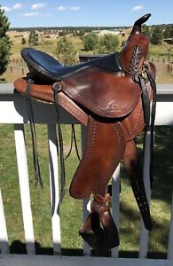 15.5 SYNERGIST TRAIL SADDLE GOOD CONDITION