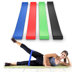 Heavy Duty Loop Resistance Training Yoga Physical Therapy Bands for Legs Butt