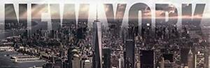 New York City Under Storm Clouds NYC World Trade Center 12x36 Poster $19.99