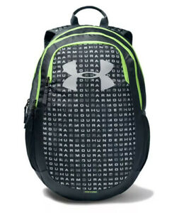Youth Under Armour Scrimmage 2.0 Storm School Laptop Backpack GrayGreen 1342652