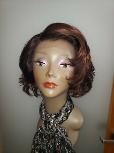 Used Wig/Beautiful Synthetic/ lace still attached