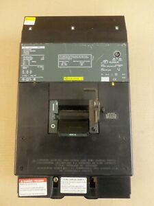 Square D LC LC36450 3 Pole 450 Amp 600v Circuit Breaker Green