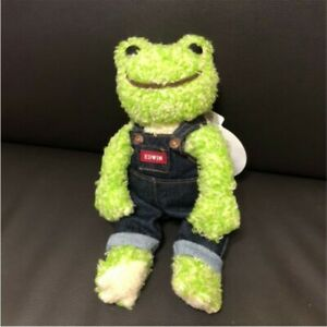 Pickles the Frog x Edwin Plush Doll Spice Mix 20th Anniversary Rare New Japan